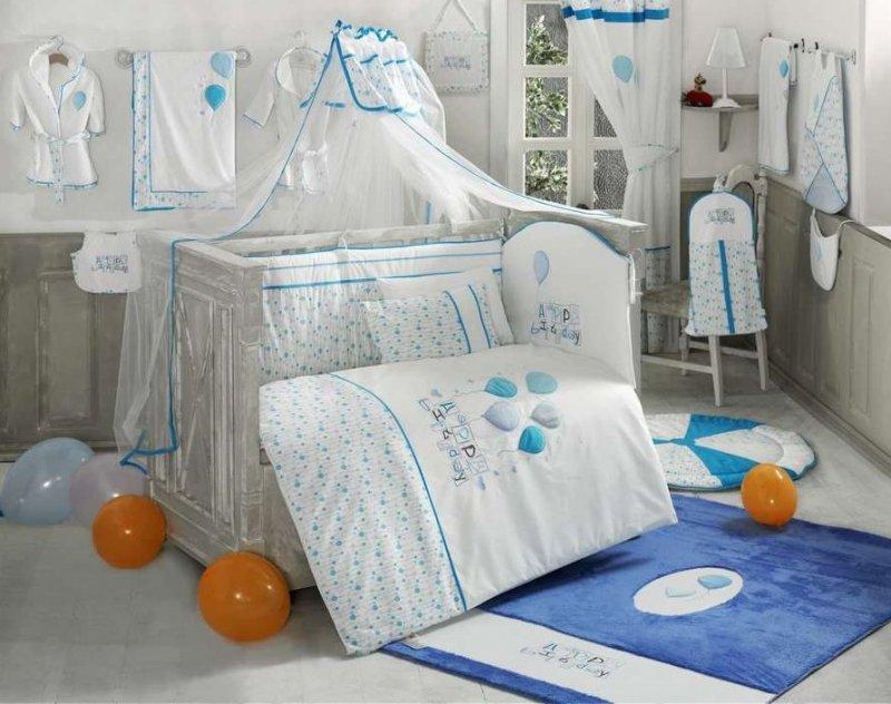 Наборы постельного белья для новорожденных